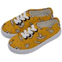 Funny Halloween Party Pattern Kids  Classic Low Top Sneakers View2