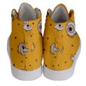 Funny Halloween Party Pattern Women s Hi-Top Skate Sneakers View4