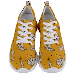 Funny Halloween Party Pattern Men s Lightweight Sports Shoes