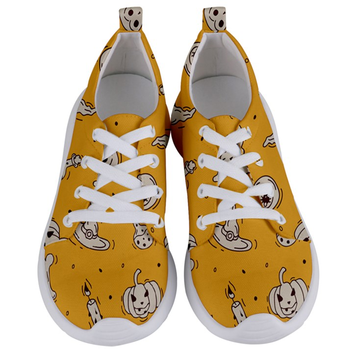 Funny Halloween Party Pattern Women s Lightweight Sports Shoes