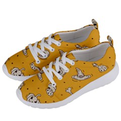 Funny Halloween Party Pattern Women s Lightweight Sports Shoes by HalloweenParty