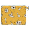 Funny Halloween Party Pattern Canvas Cosmetic Bag (XXL) View2