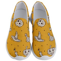 Funny Halloween Party Pattern Men s Lightweight Slip Ons