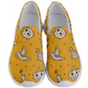 Funny Halloween Party Pattern Men s Lightweight Slip Ons View1