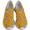 Funny Halloween Party Pattern Women s Lightweight Slip Ons View1