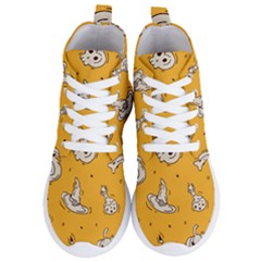 Funny Halloween Party Pattern Women s Lightweight High Top Sneakers
