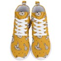Funny Halloween Party Pattern Women s Lightweight High Top Sneakers View1