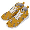 Funny Halloween Party Pattern Women s Lightweight High Top Sneakers View2