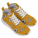 Funny Halloween Party Pattern Women s Lightweight High Top Sneakers View3