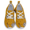 Funny Halloween Party Pattern Running Shoes View1