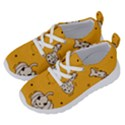 Funny Halloween Party Pattern Running Shoes View2