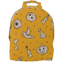 Funny Halloween Party Pattern Mini Full Print Backpack