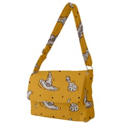 Funny Halloween Party Pattern Full Print Messenger Bag