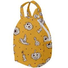 Funny Halloween Party Pattern Travel Backpacks