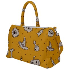 Funny Halloween Party Pattern Duffel Travel Bag by HalloweenParty