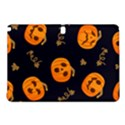 Funny Scary Black Orange Halloween Pumpkins Pattern Samsung Galaxy Tab Pro 10.1 Hardshell Case View1