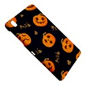 Funny Scary Black Orange Halloween Pumpkins Pattern Samsung Galaxy Tab Pro 8.4 Hardshell Case View4