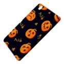 Funny Scary Black Orange Halloween Pumpkins Pattern Samsung Galaxy Tab Pro 8.4 Hardshell Case View5