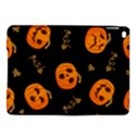Funny Scary Black Orange Halloween Pumpkins Pattern iPad Air 2 Hardshell Cases View1