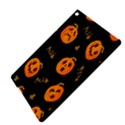 Funny Scary Black Orange Halloween Pumpkins Pattern iPad Air 2 Hardshell Cases View4