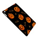 Funny Scary Black Orange Halloween Pumpkins Pattern iPad Air 2 Hardshell Cases View5