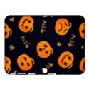 Funny Scary Black Orange Halloween Pumpkins Pattern Samsung Galaxy Tab 4 (10.1 ) Hardshell Case  View1