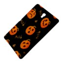 Funny Scary Black Orange Halloween Pumpkins Pattern Samsung Galaxy Tab S (8.4 ) Hardshell Case  View4