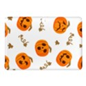 Funny Spooky Halloween Pumpkins Pattern White Orange Samsung Galaxy Tab Pro 10.1 Hardshell Case View1