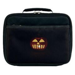 Funny Spooky Scary Halloween Pumpkin Jack O Lantern Lunch Bag