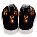 Funny Spooky Scary Halloween Pumpkin Jack O Lantern Men s Mid-Top Canvas Sneakers View4