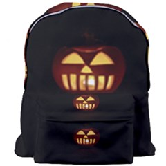 Funny Spooky Scary Halloween Pumpkin Jack O Lantern Giant Full Print Backpack