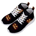 Funny Spooky Scary Halloween Pumpkin Jack O Lantern Women s Lightweight High Top Sneakers View2