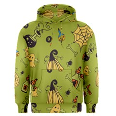 Funny Scary Spooky Halloween Party Design Men s Pullover Hoodie