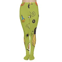 Funny Scary Spooky Halloween Party Design Tights