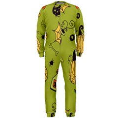 Funny Scary Spooky Halloween Party Design Onepiece Jumpsuit (men)