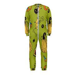 Funny Scary Spooky Halloween Party Design Onepiece Jumpsuit (kids)