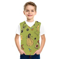 Funny Scary Spooky Halloween Party Design Kids  Sportswear