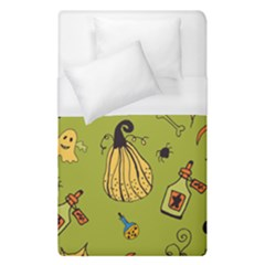 Funny Scary Spooky Halloween Party Design Duvet Cover (single Size)