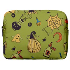 Funny Scary Spooky Halloween Party Design Make Up Pouch (large)