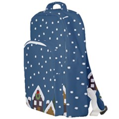 Winter Idyll Double Compartment Backpack