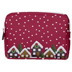 Winter Idyll Make Up Pouch (medium) by Valentinaart