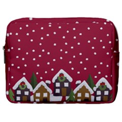 Winter Idyll Make Up Pouch (large) by Valentinaart