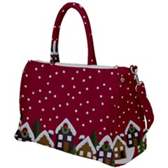 Winter Idyll Duffel Travel Bag