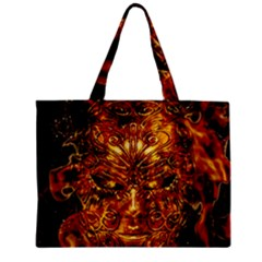 Vulcano Poster Artwork Mini Tote Bag by dflcprintsclothing