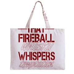 Fireball Whiskey Shirt Solid Letters 2016 Mini Tote Bag by crcustomgifts