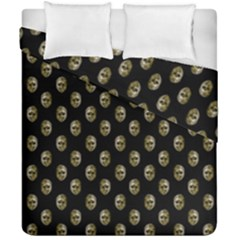 Venetian Mask Motif Pattern 1 Duvet Cover Double Side (california King Size) by dflcprintsclothing
