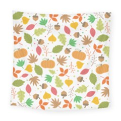 Thanksgiving Pattern Square Tapestry (large) by Valentinaart