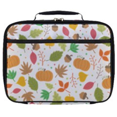Thanksgiving Pattern Full Print Lunch Bag by Valentinaart