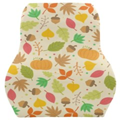 Thanksgiving Pattern Car Seat Back Cushion  by Valentinaart