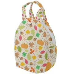 Thanksgiving Pattern Travel Backpacks by Valentinaart